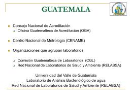 Guatemala. Universidad del Valle de Guatemala