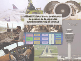 ICAO SMS Module 01 - SMS Course introduction