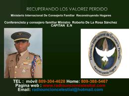 RECUPERANDO LOS VALOREZ PERDIDO