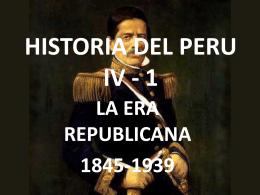 HISTORIA DEL PERU IV