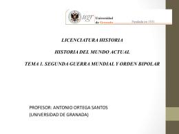 MASTER EN DESARROLLO Y COOPERACION 2005/6