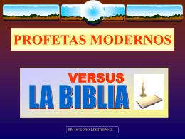 Profetas Modernos - IASD - Iglesia Adventista del Septimo …