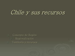 Chile y sus recursos - HISTORIA | Just another WordPress