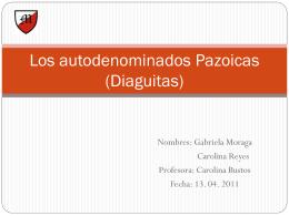 Los Diaguitas - Rincondetareas's Blog