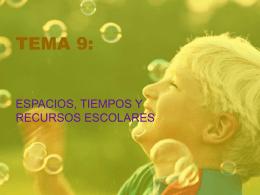 TEMA 9: - organizaciondecentros