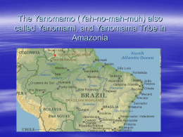 The Yanomami Tribe in Amazonia