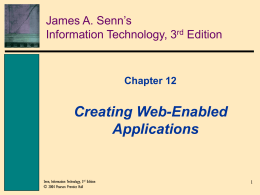 Chapter 1 Information Technology: Principles, Practices