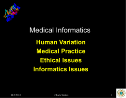 Medical Informatics - Amirkabir University of Technology