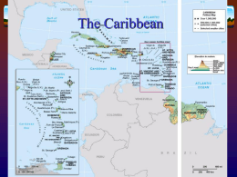 The Caribbean - DePaul University GIS Collaboratory
