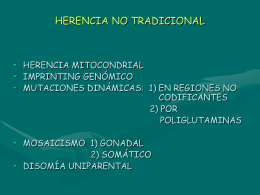 HERENCIA NO TRADICIONAL