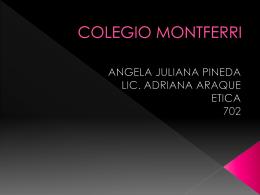 COLEGIO MONTFERRI