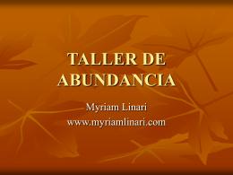 www.myriamlinari.com Te invito a descargar de mi web