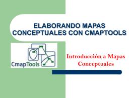 ELABORANDO MAPAS CONCEPTUALES CMAPTOOLS