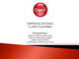 EMPRESAS EXITOSAS CLARO COLOMBIA