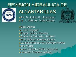 REVISION HIDRAULICA DE ALCANTARILLAS