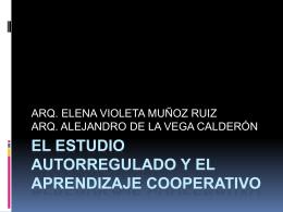 EL ESTUDIO AUTORREGULADO Y EL APRENDIZAJE …