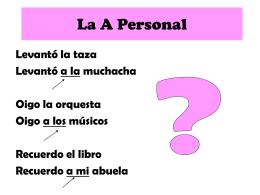 La A Personal