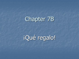Chapter 7B