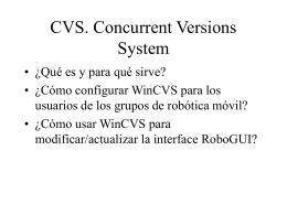 CVS. Concurrent Versions System