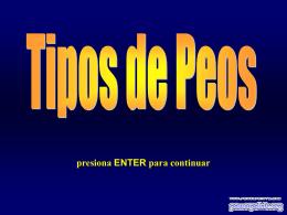 Tipos de Pedos - PowerPoints .org