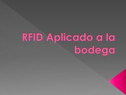 RFID Aplicado a la bodega