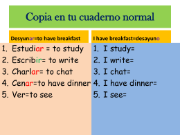 Copia en tu cuaderno normal