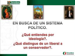 LOS CONFLICTOS IDEOLOGICOS.