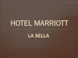 MARRIOT CADENA HOTELERA