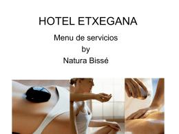 HOTEL ETXEGANA - Hotel Etxegana-Web Oficial