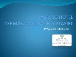 INSTITUTO DE TALASOTERAPIA HOTEL TERMAS …