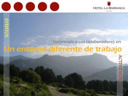 Diapositiva 1 - Hotel La Barranca