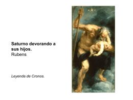 Saturno devorando a sus hijos. Goya