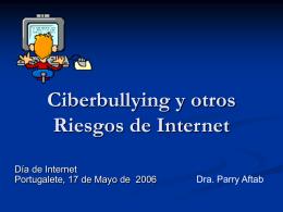 Cuidando sus Hijos por Internet