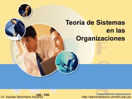 PowerPoint Template - Sistema de Informacion Gerencial