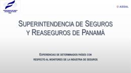 Superintendencia de Seguros y Reaseguros de Panam&#225