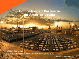 Competividad Portuaria