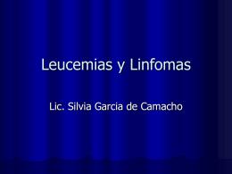 Leucemias y Linfomas - UNNE | Facultad de Medicina