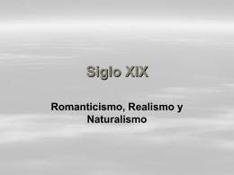 Siglo XIX - www4.gvsu.edu