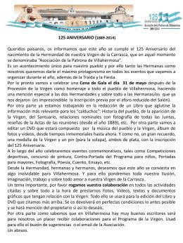 CONCURSO de DIBUJO (Contra-Portada del Programa de …