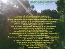 29 domingo Tiempo Ordinario -A-