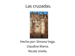 Las cruzadas. - Hacked By Avunit Mondialu