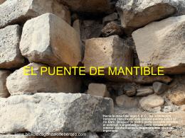Puente de Mantible (La Rioja) - Biblioteca Gonzalo de Berceo