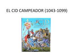 EL CID CAMPEADOR (1043-