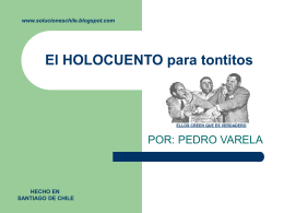 El HOLOCUENTO para tontitos - Rafapal Periodismo para