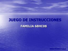 JUEGO DE INSTRUCCIONES