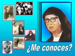Diapositiva 1 - SOR MARIA ROMERO