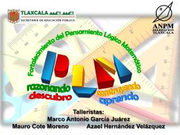 Diapositiva 1 - Gobierno del Estado de Tlaxcala
