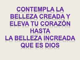 NATURALEZA - Presentaciones del Catecismo