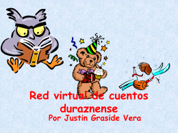 Red virtual de cuentos duraznense