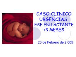 CASO CLINICO URGENCIAS - EXTRANET